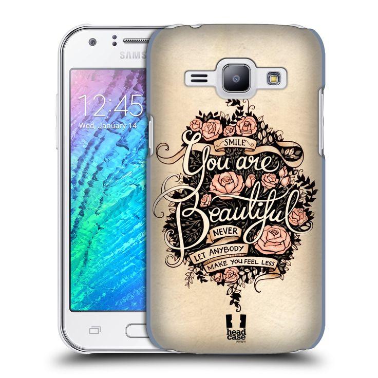 Pouzdro na mobil Samsung Galaxy J1 HEAD CASE BEAUTIFUL