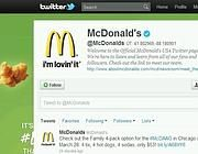 McDonald's, campagna boomerang su Twitter:  Internet Site,  Website, Web Site