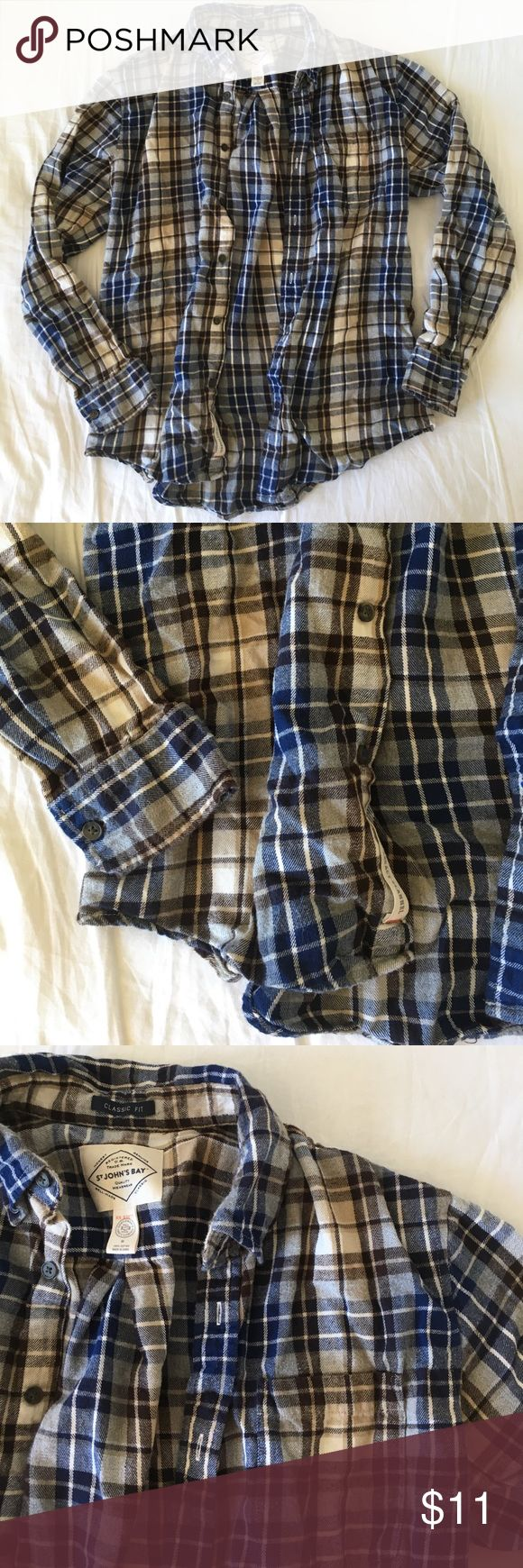 Men's plaid shirt Cozy sweater plaid shirt. No flaws. 20% off bundles and excepting all reasonable offers. Brand is not Patagonia Patagonia Shirts Casual Button Down Shirts