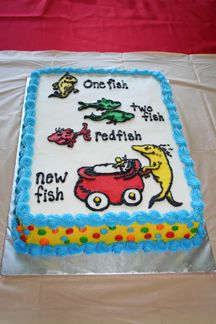 New Fish Baby shower cake. I will make this for my sister when her time comes ;)