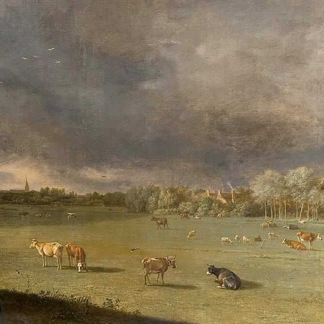 """Paulus Potter's """"The Bull"""""""
