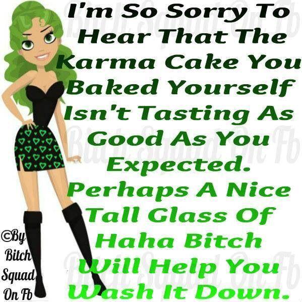 Karma cake