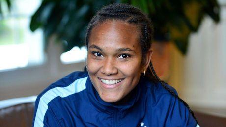 Wendie Renard, capitaine de l'équipe de france de football féminin