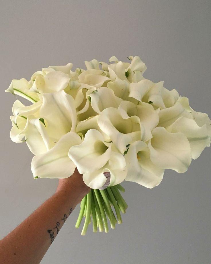 CBR465 wedding Riviera Maya calla lilies bouquet / ramo