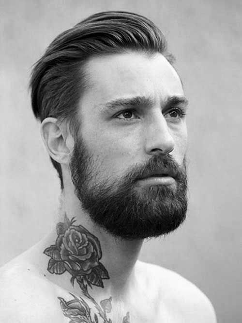 Slicked Back #Hairstyle For Men 2017