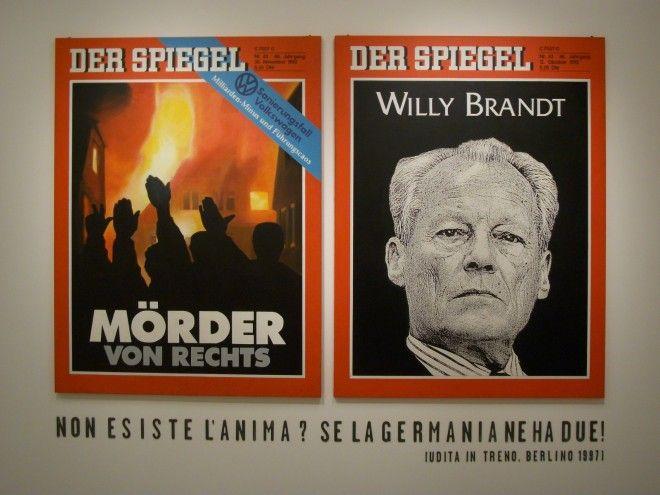 Fabio Mauri,1) Willy Brandt, 2) Morder von Rechts, 3) Non esiste l'anima?, 1992 – 1997