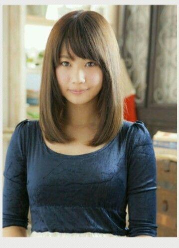 A length of medium-length hair