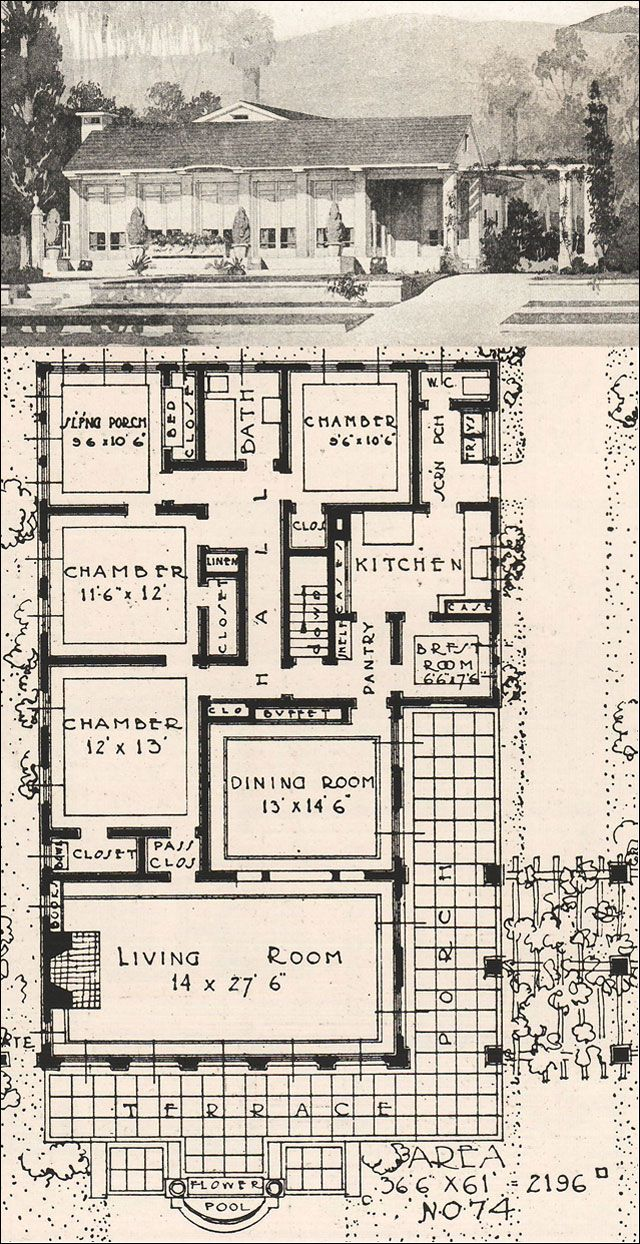 320 best 1920s house images on pinterest | vintage houses, 1920s