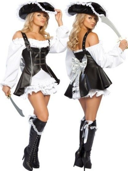 Sexy three musketeers costume
