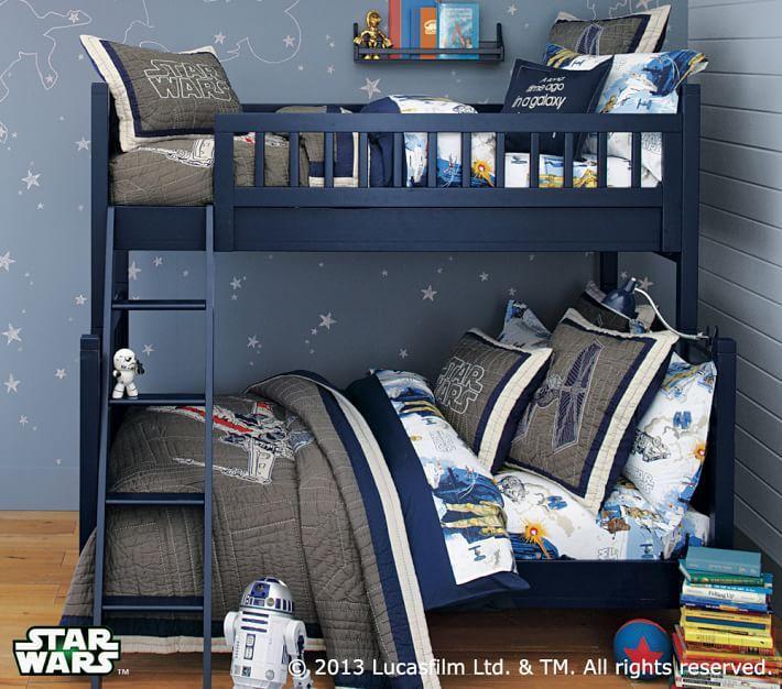 Star Wars™ X Wing U0026 TIE Fighter™ Quilted Bedding