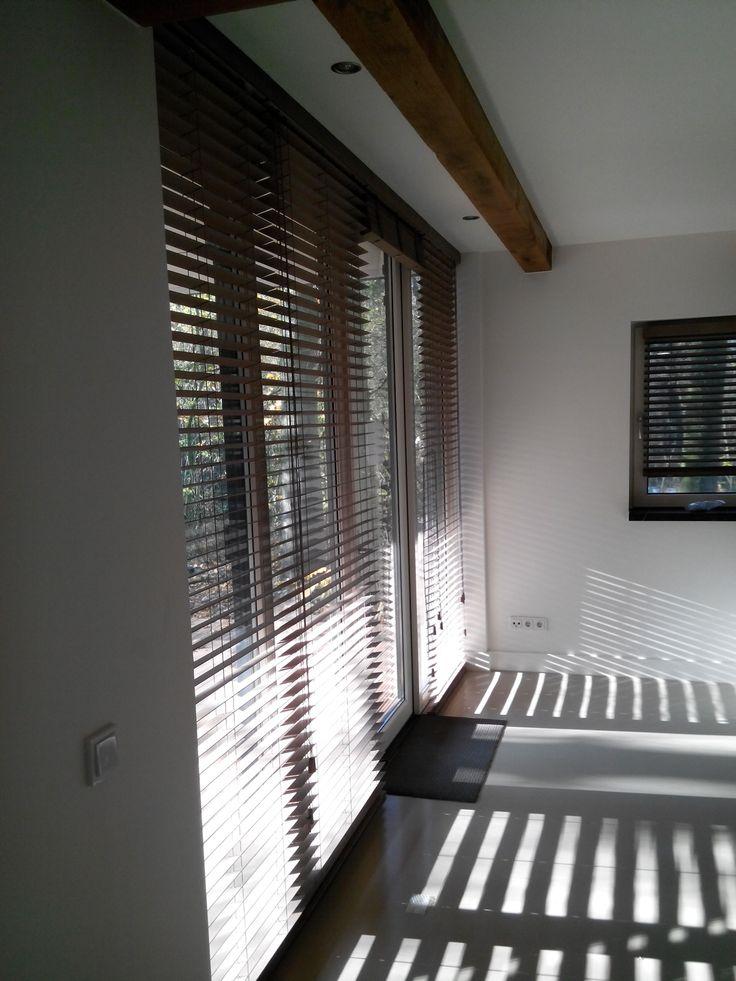 DIB blinds Bamboe Rookgrijs