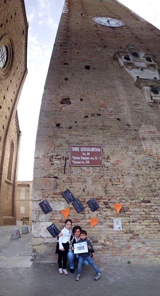 #invasionidigitali TORRE GEROSOLIMITANA Sant'Elpidio a Mare (FM). #Invasionecompiuta
