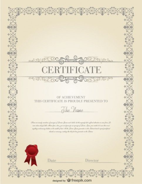 78 best Certificate images on Pinterest Free stencils, Free - free college diploma template