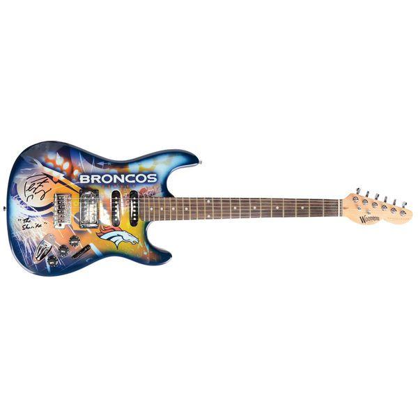 Peyton Manning Denver Broncos Fanatics Authentic Autographed Woodrow Guitar with The Sheriff Inscription - $1999.99