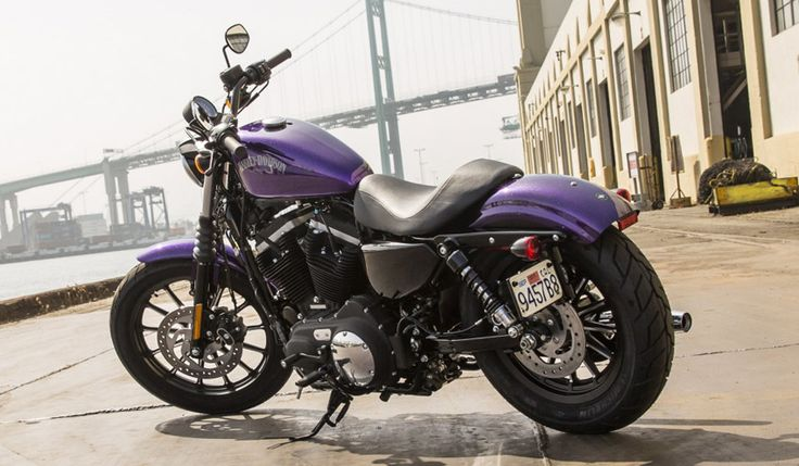 IRON 883™ - A blacked-out-beauty with a low seat and agile ... Ride Or Die Chick