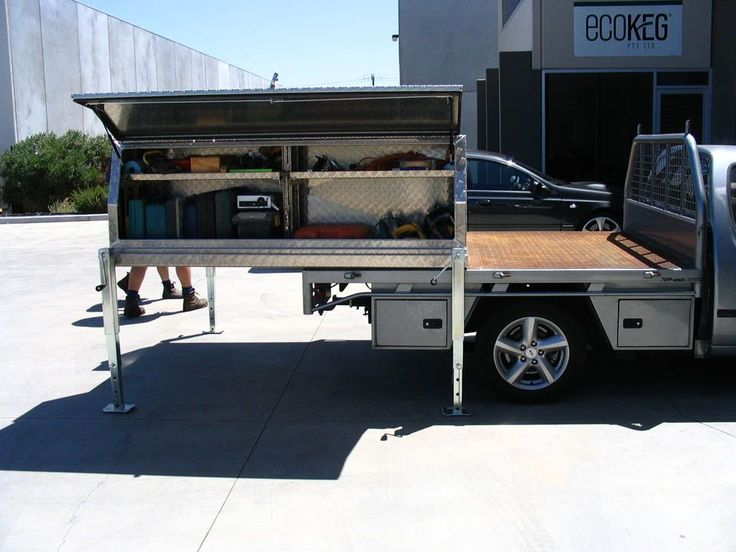 gallery showing works of tool boxes and canopies in melbourne by aussie tool boxes - Tool Box For Trucks
