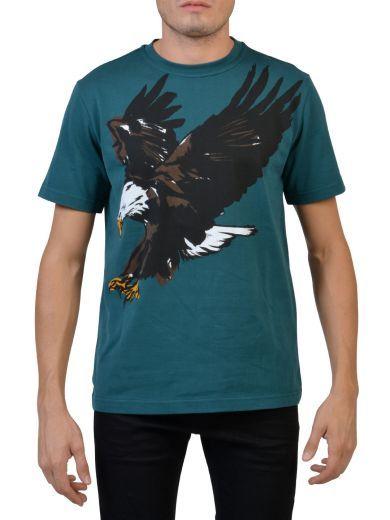 BALENCIAGA Balenciaga T-shirt With Eagle Print. #balenciaga #cloth #topwear