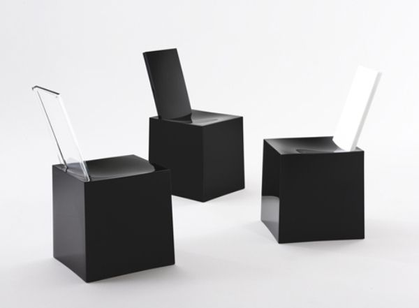 Modern plastick chairs trend furniture design by Philippe Starck