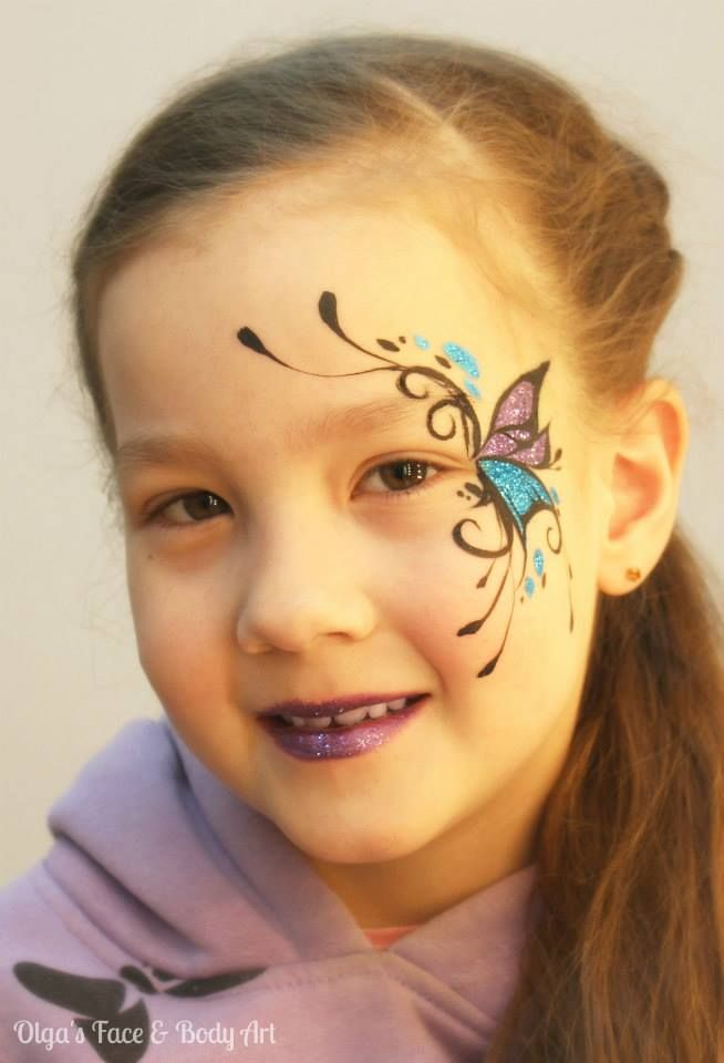 Abstract Face Painting Designs