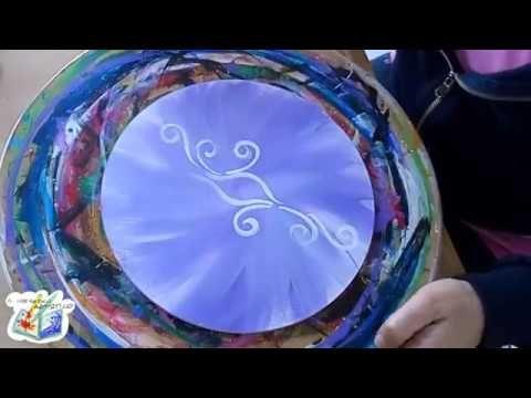 SpeedArt: Mandala Viola, l'universo