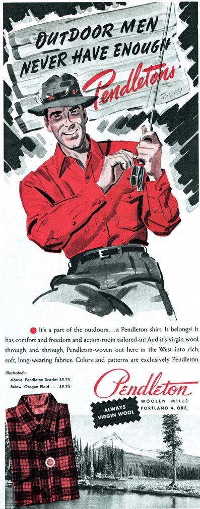 Pendleton Shirt Woolen Mills Men's Plaid Wool Shirts — Gentleman's Gazette