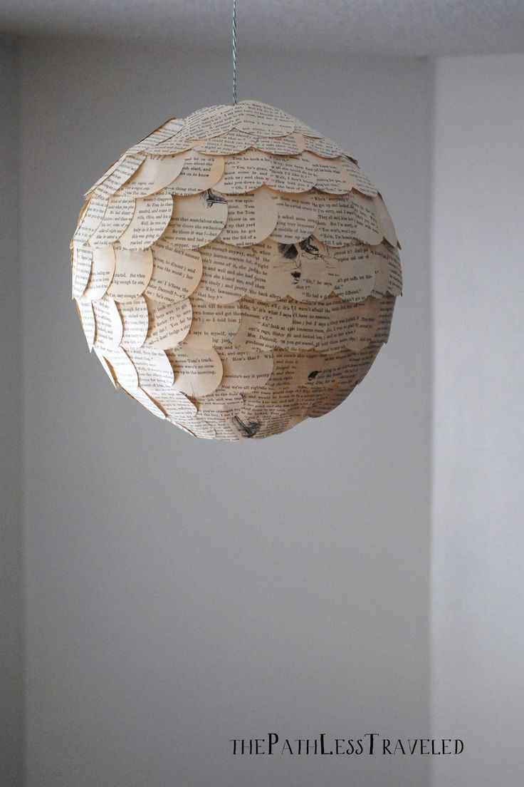 paper lighting. items similar to scalloped paper lantern upcycled vintage lamp shade on etsy lighting i