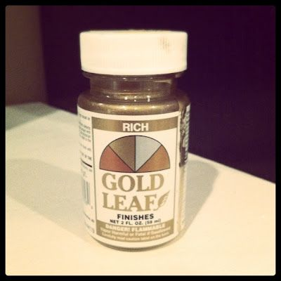 FYI- this is the best gold leaf paint I have ever used....
