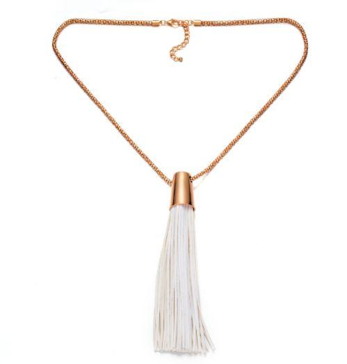 Oversized Long Tassel Necklace – Harper & Jewels