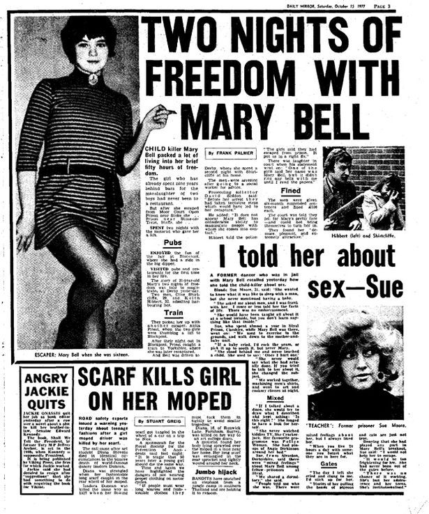 She was released aged 23 in 1980 and a plea to a court that her identity should not be revealed by the media was accepted by the High Court under what became known as the Mary Bell law.  She now lives under a new name in Britain and is reported to be a grandmother.