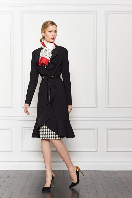 Houndstooth + beautiful coat