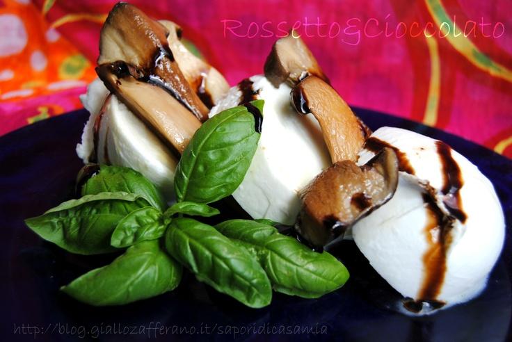 BUFALA E PORCINI  http://blog.giallozafferano.it/saporidicasamia/bufala-e-porcini/