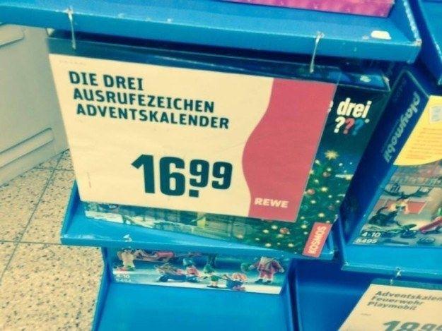 Dieses Weihnachtsschnäppchen. | 57 Supermarkt-Fails, die die Geschichte verändert haben