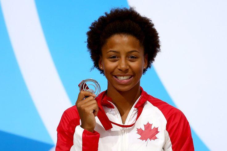 Jennifer Abel of Canada