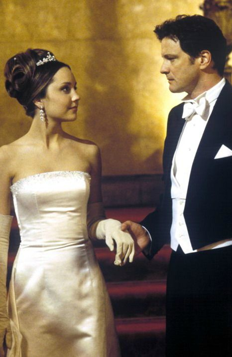 "Amanda Bynes (Daphne Reynolds) & Colin Firth (Henry Dashwood) in ""What a Girl Wants"" (2003)"