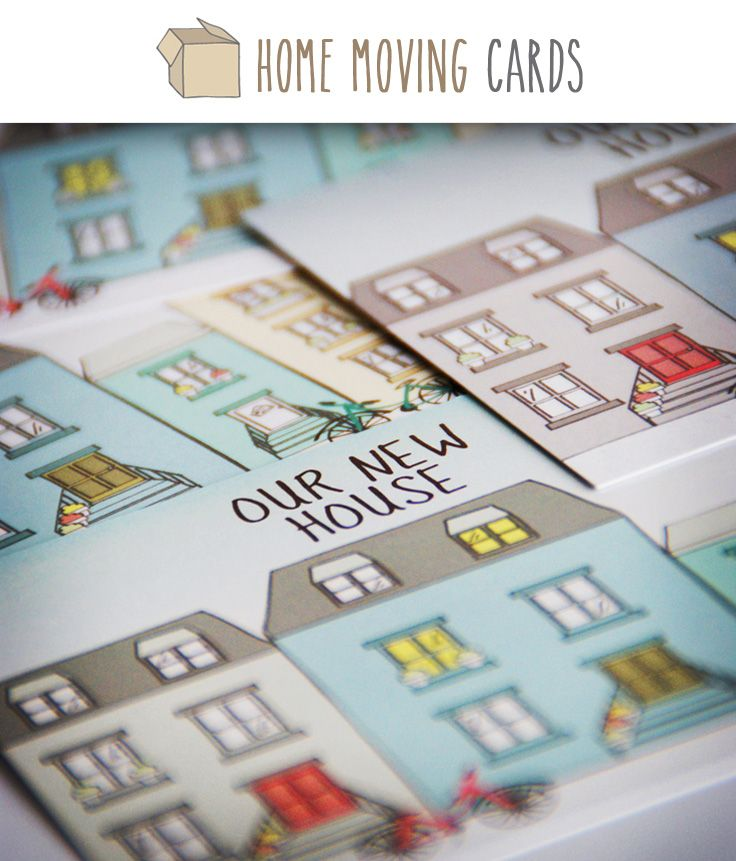 1000 images about we moved on pinterest free printable for Moving home cards template