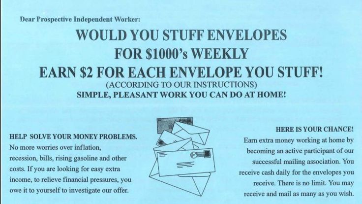 State Warns Residents About Work-from-Home Job Offers