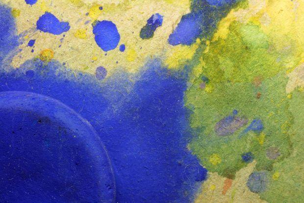 Ideas para realizar en casa pinturas abstractas en lienzo