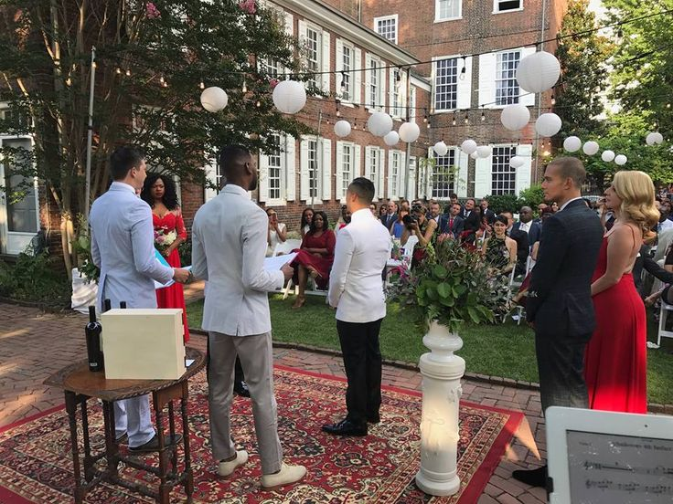 We had a great time performing music for this lovely wedding ceremony. The music ranged from Hamilton: An American Musical soundtrack to Beyoncé.  * * *  #beyonce #wedding #weddingceremony #hamilton #weddingmusic #ceremony #psq #philadelphiaband #marriage