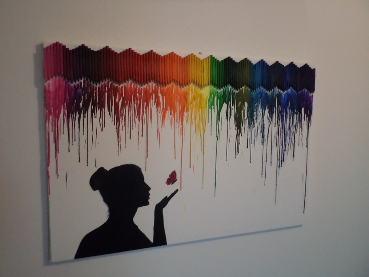 17 Best Images About Melted Crayon Art Diy And