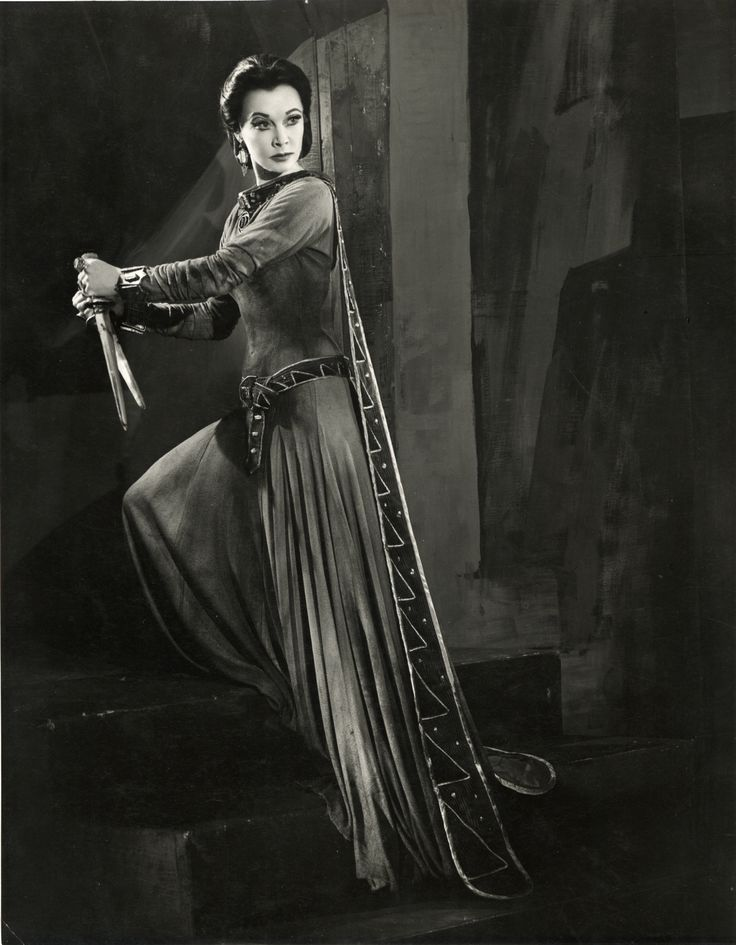 Vivien Leigh as Lady Macbeth, Macbeth, 1955. Photo by Angus McBean.