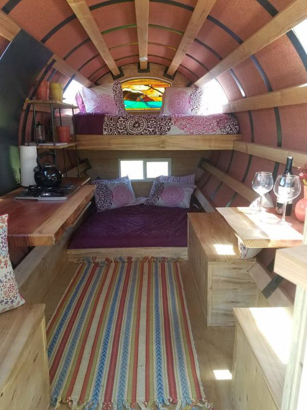 Gypsy Getaway Wagons - Interior                                                                                                                                                                                 More