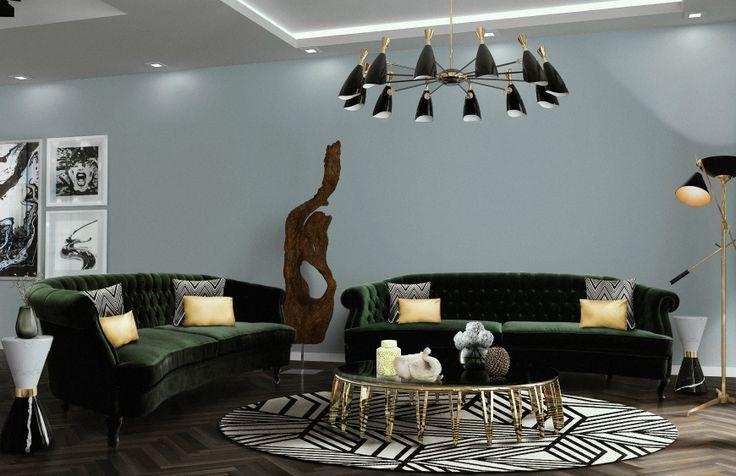 These Modern Sofas Are True Pieces Of Art // Living Room Ideas. Velvet Sofas. #modernsofas #velvetsofa #livingroom Read more: http://modernsofas.eu/2017/09/11/modern-sofas-true-pieces-art/