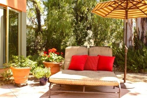 Patio mediterranean patio: Shannon Malone, Gardens Inspiration, Dream Yard, Backyard Idea, Perfect Patio, Patio Mediterranean, Mediterranean Patio, Inspiration Patio, Outdoor Gardens Idea