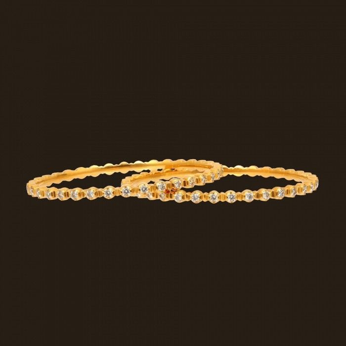 Entice Diamond Bangle (135A1978) | Vummidi Bangaru Jewellers