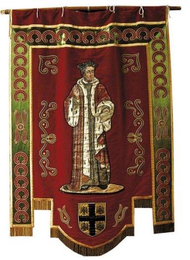 Bannière de saint Yves, Tréguier (22)