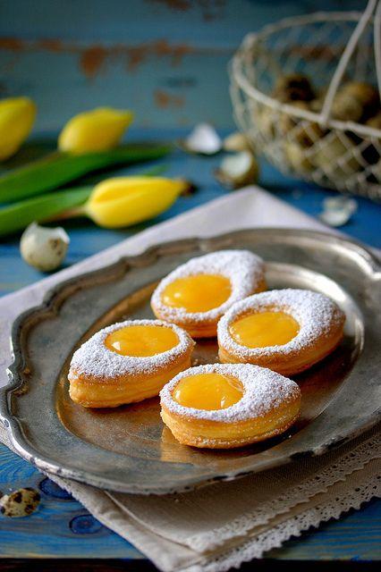 Puff Pastry Eggs (Martha Stewart) by jultchik7, via Flickr
