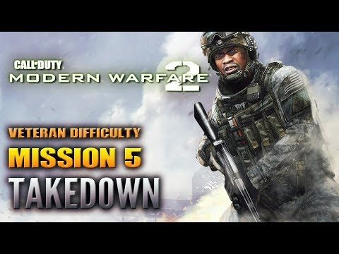 http://callofdutyforever.com/call-of-duty-tutorials/call-of-duty-modern-warfare-2-walkthrough-mission-5-takedown-veteran-no-commentary/ - Call of Duty: Modern Warfare 2 - Walkthrough - Mission 5 - Takedown (VETERAN) NO COMMENTARY  Call of Duty: Modern Warfare 2 – Walkthrough – Mission 5 – Takedown (VETERAN) NO COMMENTARY ►Subscribe!: https://www.youtube.com/user/TrueGamingVault ● Call of Duty: Modern Warfare 2 – Walkthrough – Mission 5 &#821