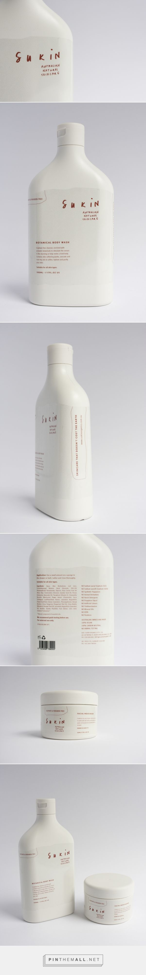 Sukin Skincare is an Australian natural personal care company whose products boast only the best ingredients nature has to offer.   Package Designed by Danielle Fritz