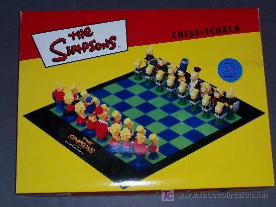 ajedrez de los simpson - Comprar Juegos de mesa antiguos en todocoleccion - 25525562