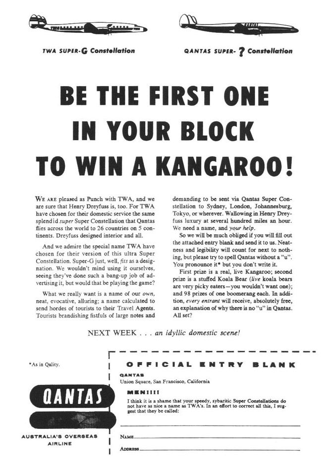 Howard's interactive campaign for Qantas (his first!) was an object lesson in how to create engagement with a brand, simply by treating the consumer as an intelligent person that you wished to engage in conversation. This interactive approach was the direct opposite of the interruptive model favoured by the 1960's advertising business. (And still very popular with many advertisers today)